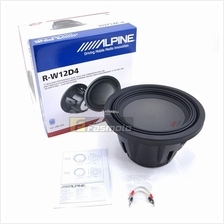 Alpine R-W12D4 R-Series 12 inch Subwoofer with Dual 4 ohm Voice Coils