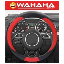 Brand New 15 Inches Steering Wheel 71345 Black and Red Color Cover