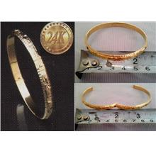 **CELLY**  24K Gold Plated Bangle