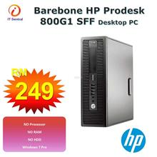 Core i3 + 8GB + 240GB SSD HP Prodesk 800 G1 SFF Desktop PC 500GB 1060
