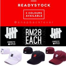 31f6a139a98 Undefeated Baseball Cap (Ready Stock Colour)