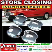 [8429] Mercedes Benz W124 E Class W201 190 190E Chrome Door Handle Cov