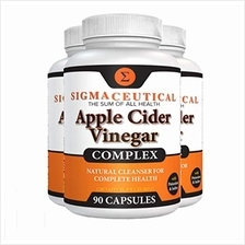 [From USA]3 Pack of Apple Cider Vinegar Capsules – Blood Sugar, Weight Loss