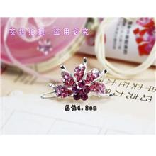03299 Colorful Korean Diamond Hairpin