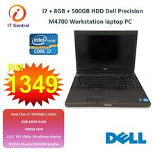 16GB RAM 480GB SSD i7 Dell Precision M4700 workstation laptop also 240