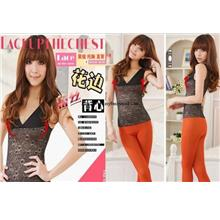 00170 Japan Shaping The Abdomen Adjustment Type Slimming Lace Vest