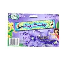 Tinkerbell Great Fairy Happy Birthday Party Banner 150cmx30cm 068356