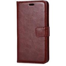 MAGNETIC SNAP FLIP LEATHER STAND COVER WALLET CASE FOR HUAWEI ASCEND P8 LITE (