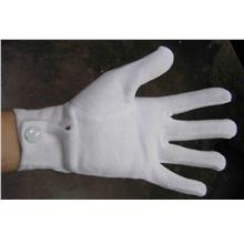 URE 100% Cotton Marching Band Police Button Gloves (FREE POS)