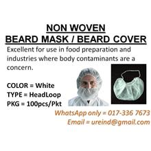 URE Non Woven BEARD Masks / Beard Cover (FREE POS)