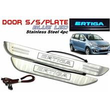Proton Ertiga Side Sill Step LED blue