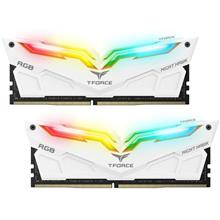 TEAM 2X 16GB DDR4 NIGHT HAWK 3000MHZ RGB DESKTOP RAM WHT (TF2D416G3000HC16CDC0