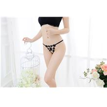 00344 Delicate Embroidered Flower G String db3df5306c
