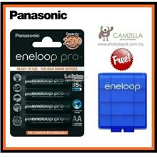 Panasonic eneloop pro 4pcs AA 2500mAh Rechargeable Battery (Original)