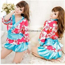 00497 New Japanese Role-Playing Fun Uniforms Kimono Pajamas Set