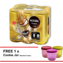NESCAFE Original RTD 240ml ,Buy 1 Clusters Free 1 CNY Container
