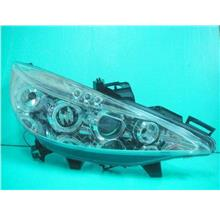 PEUGEOT 207 Crystal Projector Head Lamp LED Ring