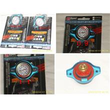 D1 Spec Radiator Cap With Temperature Meter [Size 0.9 / 1.1]