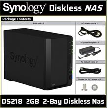 Synology Disk Station DS218 - NAS server - (Official Synology Store)