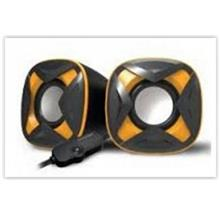VINNFIER ICON 303 MIC USB STEREO SPEAKER BLACK/YELLOW