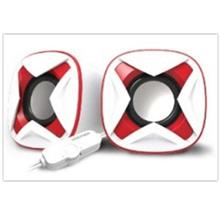 VINNFIER ICON 303 MIC USB STEREO SPEAKER WHITE/RED