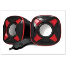 VINNFIER ICON 303 MIC USB STEREO SPEAKER BLACK/RED