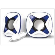 VINNFIER ICON 303 MIC USB STEREO SPEAKER WHITE/BLUE