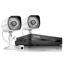 ZMODO NVR COMBO SET (4CHANNEL 720P / 2 X CAMERA) ZM-SS712