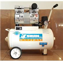 Swan DRS210-22 Oil Less/Free Air Compressor 1HP, 7Bar, ID009480