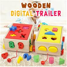 WOODEN DIGITAL TRAILER - NUMBER