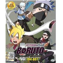 Boruto Naruto Next Generations Vol.784-807 Anime DVD