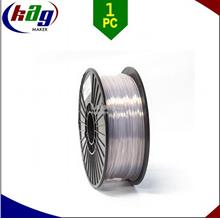 3D Printer High Quality 1.75mm 1KG PLA Filament / CLEAR (TRANSPARENT)