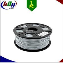 3D Printer High Quality 1.75mm 1KG PLA Filament / GRAY