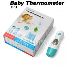 baby Thermometer 8 in 1 Digital Mini Ear Forehead Infrared IR