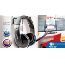 CLIPTEC PCWAVE Dynamic Stereo Multimedia Headset (BMH529)