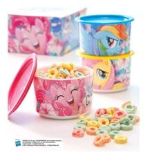 Tupperware My Little Pony Canister 685ml (3pcs)