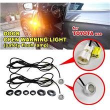 MOST TOYOTA OEM Plug And Play Door Open Warning Safety Flash Lights