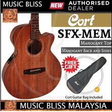 Cort SFX-MEM Acoustic Guitar with Mahogany Top - Open Pore (SFX MEM)