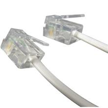 RJ11 4C Phone Line Cable 25FT (F215)