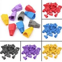 CAT5 CAT6 RJ45 RUBBER BOOTS 100PCS (0046)
