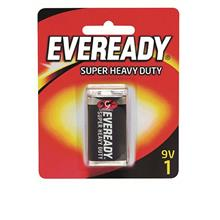 EVEREADY Super Heavy Duty 9V Carbon Zinc Batteries (B06-15)