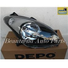 Myvi SE 2 Head Lamp Black Brand Depo