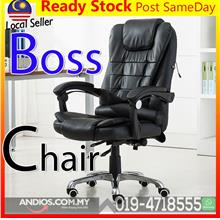 Executive CEO PU Leather Office Chair-Kerusi Ofis Chairman