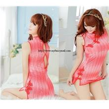 00567 Ice Silk Sleep Lingerie Underwear Pyjamas Nightwear Skirt