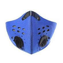 Activated Carbon Filtration Exhaust PM2.5 Dust Mask (BLUE RIBBON)