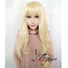 Cosplay hair wig BN7 blonde/ ready stock/ rambut palsu