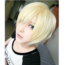 Cosplay men hair wig blonde BN12/ ready stock/ rambut palsu