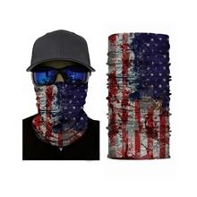 Outdoor Cycling Flag Pattern Face Mask Seamless Bandana (COLORMIX)