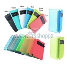 SONY XPERIA Z1 L39H PU LEATHER PLASTIC FLIP VIEW CASE