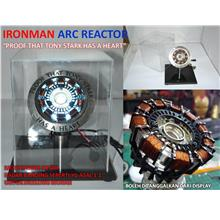 "LELONG IRONMAN ARC REACTOR ""PROOF THAT TONY STARK HAS A HEART"" 1:1'"